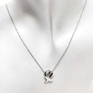 Tiffany & Co. Pendant Necklace Heart PicassoSilver